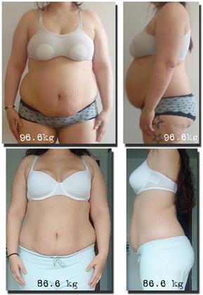 rasa ner i vikt på en vecka